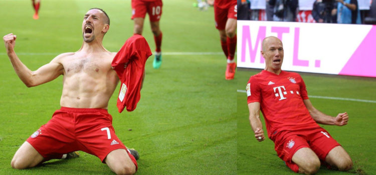 WATCH: Ribery And Robben Both Score To Secure The Bundesliga Title In Their Final Match For Bayern