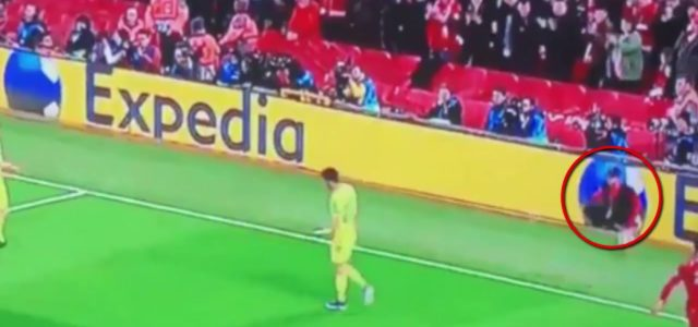 WATCH: The Ball Boy is the Unsung Hero for the Winning Goal