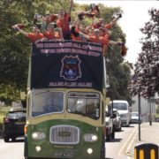 Sunday League team, Duckpond FC, spend £4,000 on open-top bus parade after winning title