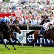 Aidan O'Brien's Anthony Van Dyck paints winning picture in Epsom Derby