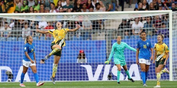 Australia fight back to claim stunning win over Brazil