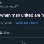 Daniel James Tweet Resurfaces Where He Takes The P**s Out Of United