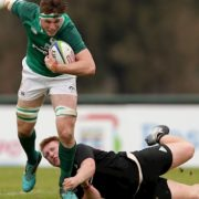 New Zealand secure 40-17 victory over Ireland