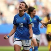 Italy put five past Jamaica to move into last 16