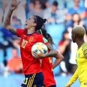 Red card and two penalties see Spain dominate South Africa