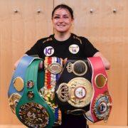 Watch: Undisputed lightweight champion Katie Taylor returns triumphantly to Ireland