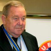 Former UEFA president Lennart Johansson dies