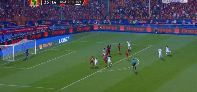 WATCH: Salah Has Just Scored An Absolute Rocket Of A Freekick