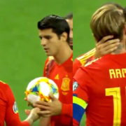 WATCH: The Amazing Moment Ramos Gave A Penalty To Morata To Boost his Confidence