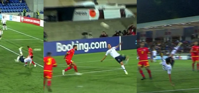 WATCH: Thauvin Scores Acrobatic Bicycle Kick For France