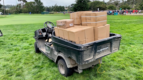 Runaway golf cart injures spectators at US Open