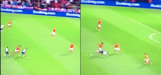 VIDEO: Quality Jostle this Between Sterling & van Dijk for the Ball💪