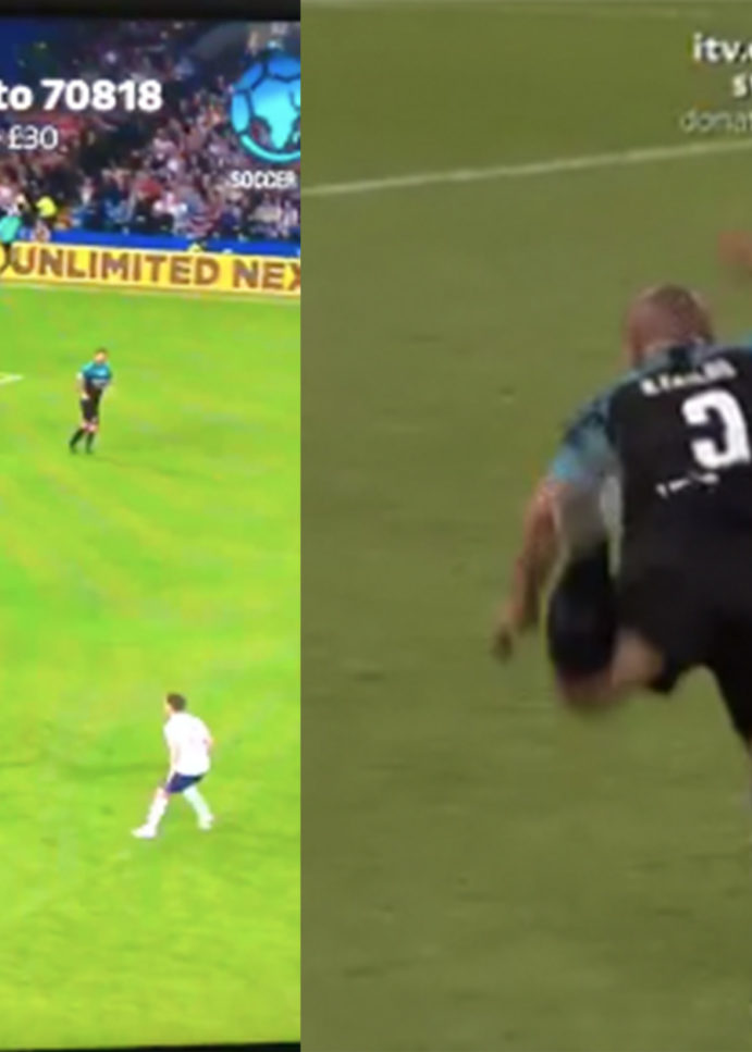 This is the definition of 'Form is Temporary, Class is Permanent'. Roberto Carlos, Take a Bow!