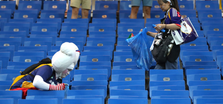 VIDEO: 2018 in Russia and 2019 in France…   Japan fans are still awesome 🇯🇵👏