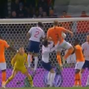 VIDEO: De Ligt With A Cracking Header to Give the Netherlands the Lead 💪