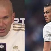 WATCH: Zinedine Zidane has given an update on the Gareth Bale situation