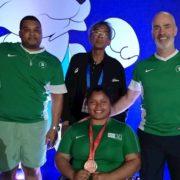 Cavan para powerlifter Britney Arendse upgraded to bronze medal after doping violation by UAE athlete