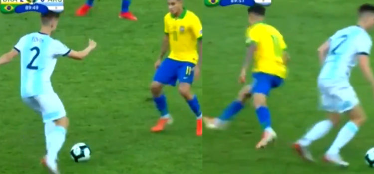 WATCH: Spurs Defender Juan Foyth Ended Coutinho's Career Last Night Without Touching The Ball