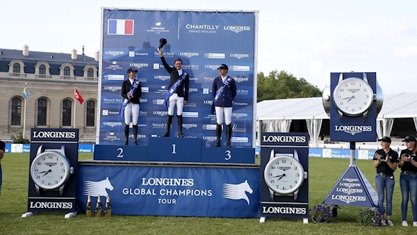 'He really saved me,' Ireland's Darragh Kenny praises his horse as he breaks French hearts in Chantilly