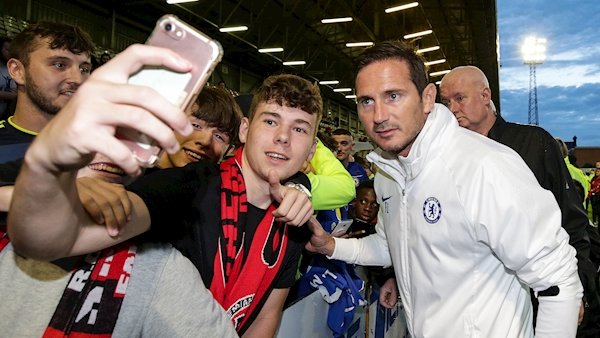 Watch: Triallist and 14-year-old combine for equaliser as Bohs deny Frank Lampard's Chelsea