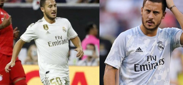 Hazard Arrived At Real Madrid 7KGs Overweight