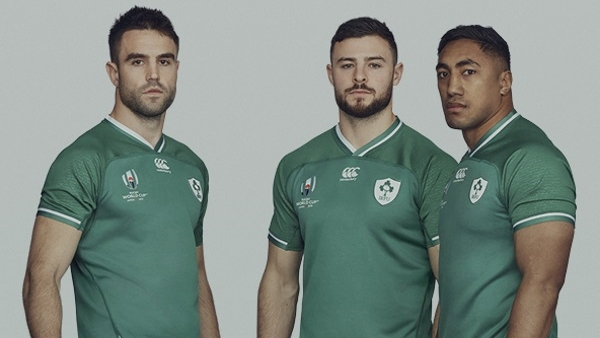 Here's the jersey Ireland will be wearing at the 2019 Rugby World Cup