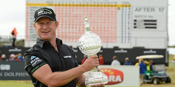 Jamie Donaldson targets Portrush return after claiming Scottish Open lead
