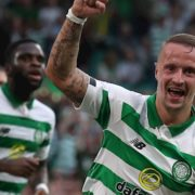 Leigh Griffiths scores on return to starting XI as Celtic thump Nomme Kalju