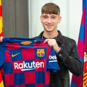 Former Ireland underage international signs for Barcelona