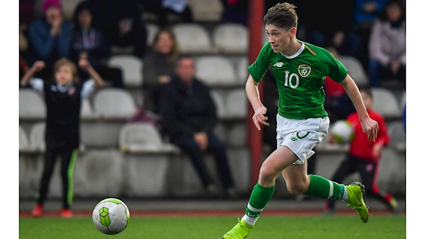 Former Ireland underage international signs for Barcelona