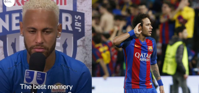 WATCH: Neymar Says His Best Memory As A Footballer Was Beating PSG With Barcelona