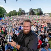 Shane Lowry 'overwhelmed' as thousands welcome Open champion in Clara