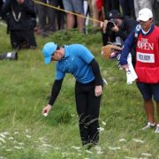 Rory McIlroy shoots disastrous quadruple-bogey on first hole at Portrush
