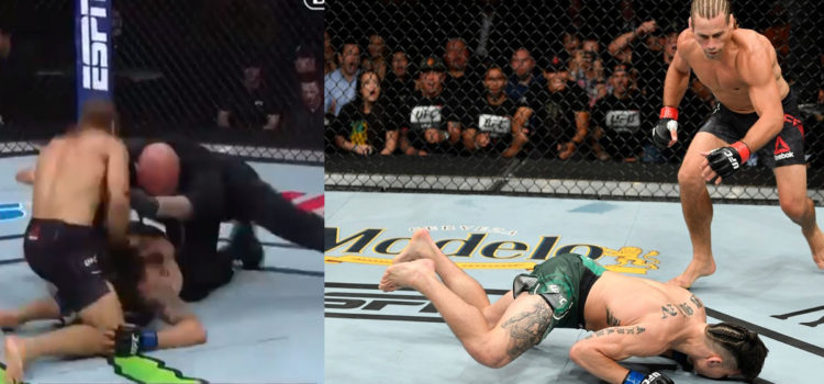 WATCH: Urijah Faber Knocks Out Ricky Simons In 46 Seconds In Comeback Fight