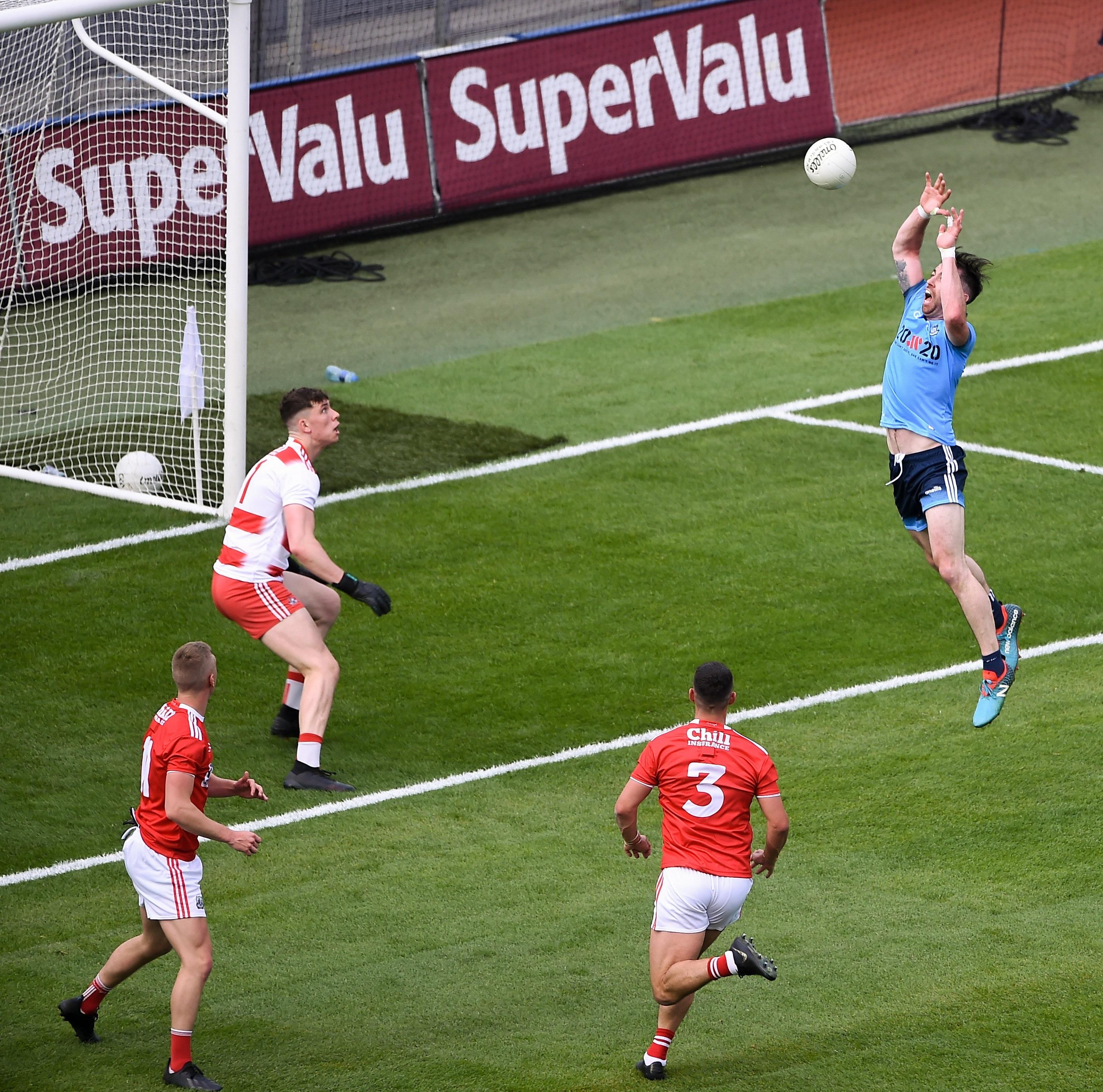 Cork hit by late burst but not before unsettling Dublin