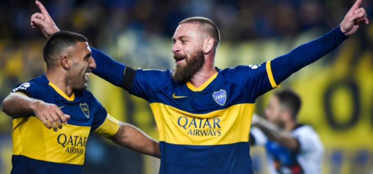 WATCH: Daniele De Rossi scores his first goal for Boca Juniors on his debut