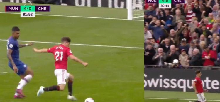 WATCH: Daniel James Scores Debut Goal In Old Trafford. The Dream Start!