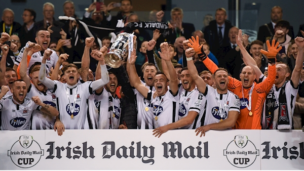 Holders Dundalk face tricky FAI Cup tie at Derry City