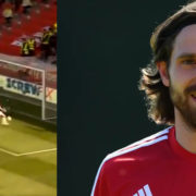 WATCH: Joe Allen 'The Welsh Xavi' Has Just Hit The Post From A Yard Out – Miss Of The Season