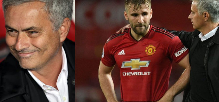 Jose Mourinho Completely Throws Luke Shaw Under The Bus At Half Time