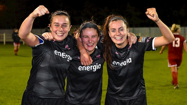 Wexford Youths produce stunning performance over Gintra in UEFA Women's Champions League