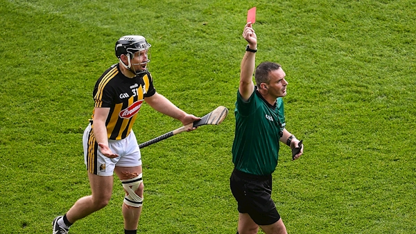 'There was absolutely no way it was a sending off': Hogan responds to red card controversy