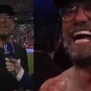 WATCH: Klopp Impersonates Rocky In Post Match Interview 'ADDRRRIIAAAANNN!'