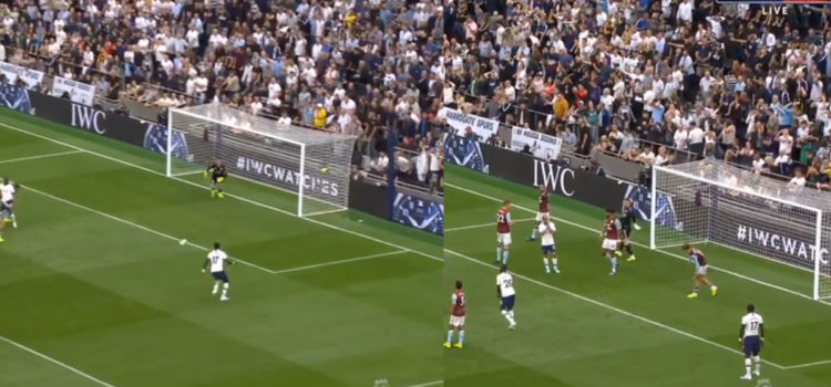 WATCH: Sissoko's Shot From 6 Yards Goes Out For A Throw