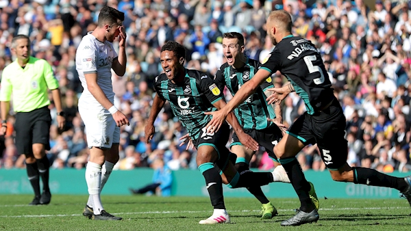 Championship wrap: Swansea strike at the death to sink Leeds