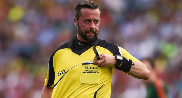 Kerry express 'complete confidence' in David Gough as All-Ireland referee