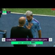 WATCH: Guardiola vs Agüero   Guardiola and Agüero fight after replacement