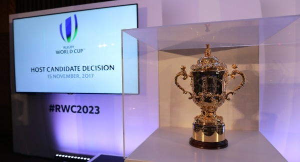 The history of the trophy everyone wants to lift at #RWC2019