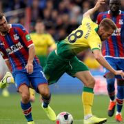 Milivojevic and Townsend strike as Palace see off Norwich