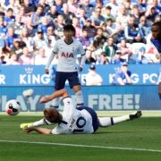 WATCH: Harry Kane falls over and still manages to produce a class finish